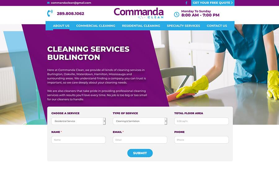 Commanda Clean